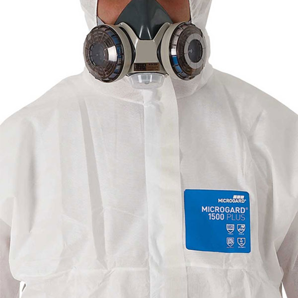 ชุดป้องกันฝุ่นและสารเคมี