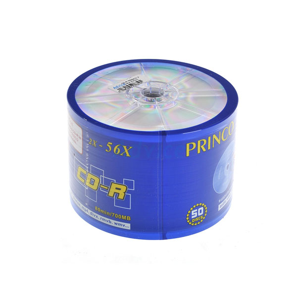 PRINCO แผ่น CD-R (50/Pack)