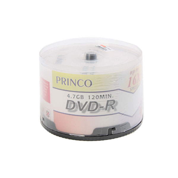 PRINCO แผ่น DVD-R (50/Pack)